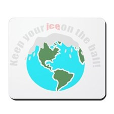 unique save the earth Mousepad