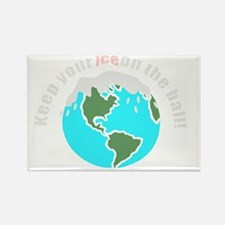 unique save the earth Rectangle Magnet