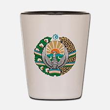 COA_Uzbekistan Shot Glass