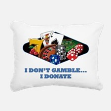 casinoclgdonate Rectangular Canvas Pillow
