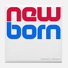 New Born Porn Tile Coaster