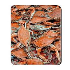 snow crabs (1) Mousepad