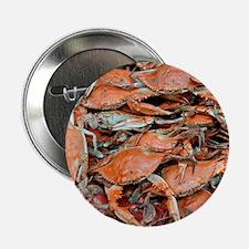"""snow crabs wider 2.25"""" Button"""