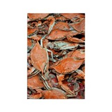 snow crabs (1) Rectangle Magnet