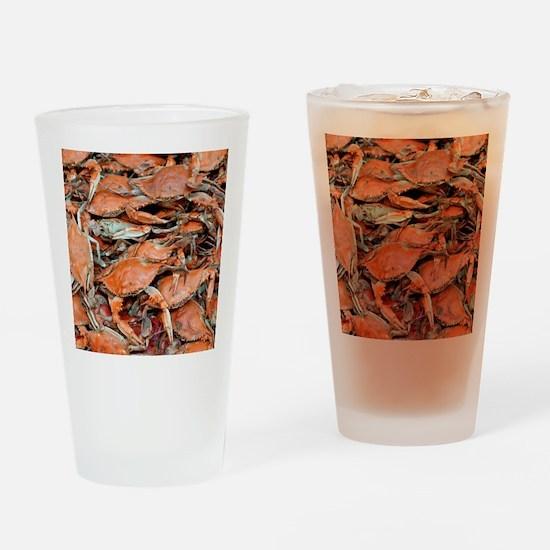 snow crabs wider Drinking Glass