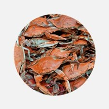 """snow crabs wider 3.5"""" Button"""