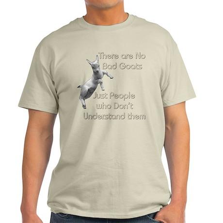 No Bad Goats Light T-Shirt