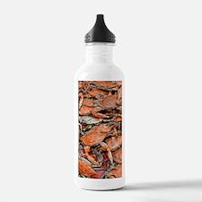 snow crabs wide Water Bottle