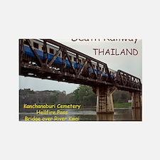CAL1_Death_Railroad_120_COVER2 co Rectangle Magnet