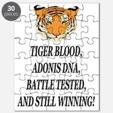 tiger blood adonis dna battle testeed still Puzzle