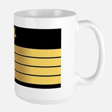 USN CPT LP Large Mug