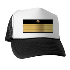 USN CPT LP Trucker Hat
