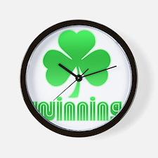 Luck Win3 Wall Clock
