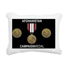Afghanistan LP Rectangular Canvas Pillow