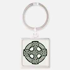 celticcross Square Keychain