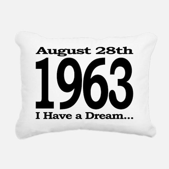 I Have a Dream Speech Au Rectangular Canvas Pillow
