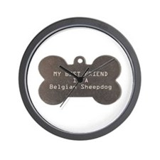 Friend Sheepdog Wall Clock