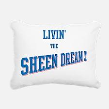 Sheen Dream Rectangular Canvas Pillow