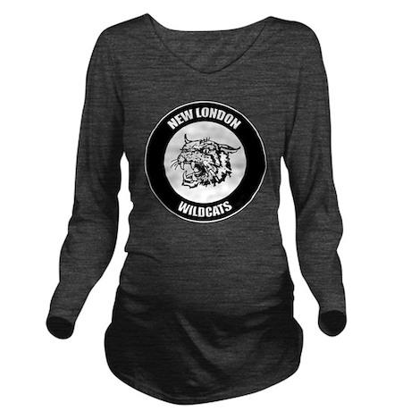 NEL_Logo_Mascot_T Long Sleeve Maternity T-Shirt