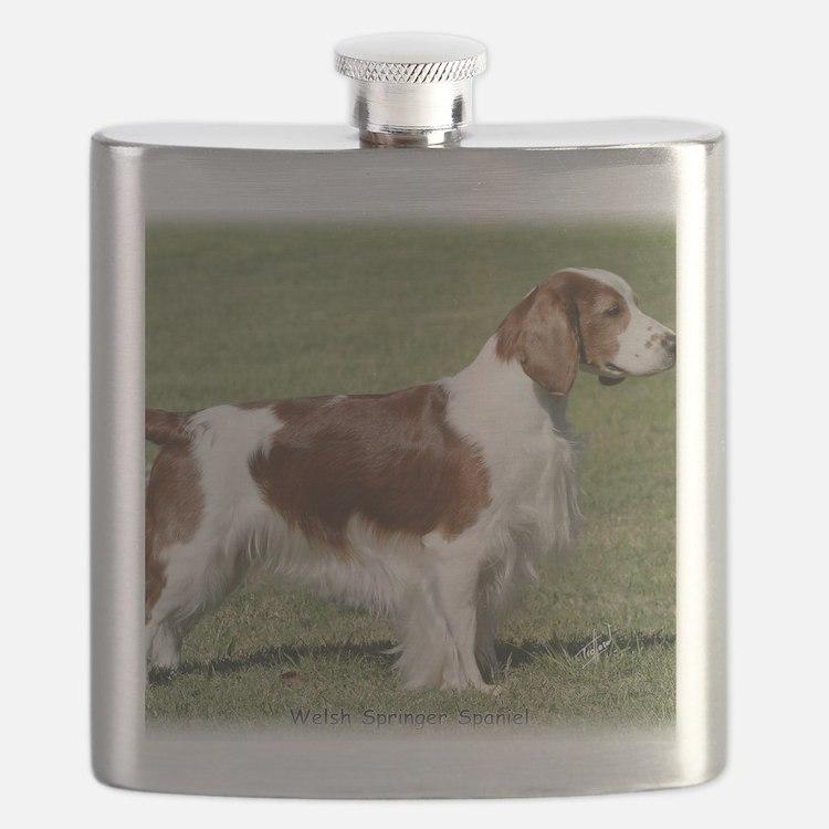 Welsh Springer Spaniel 9Y394D-041 Flask