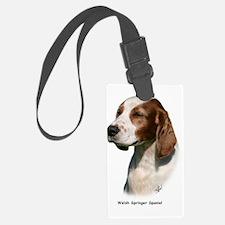 Welsh Springer Spaniel 9Y394D-04 Luggage Tag