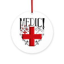 MCEtf2MEDIC Round Ornament