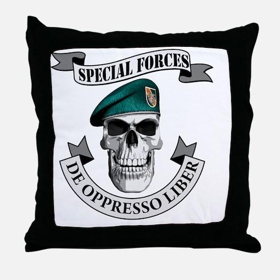 specialforces369 Throw Pillow