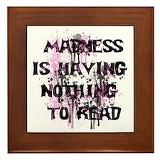 Madness Grunge Framed Tile