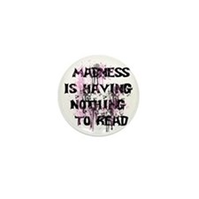 Madness Grunge Mini Button