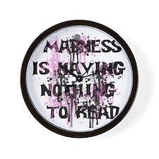 Madness Grunge Wall Clock