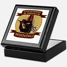 vatican warlock01 Keepsake Box