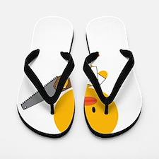 ConstructionChickDkT Flip Flops