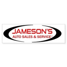 JAMESONS Bumper Sticker