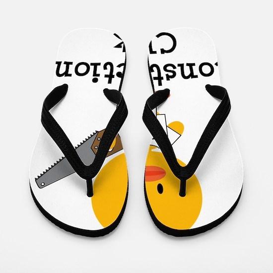 ConstructionChick Flip Flops