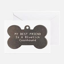 Friend Bluetick Greeting Cards (Pk of 10)