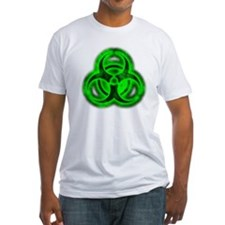 glowingBiohazardGreenTCrop Shirt