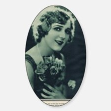 Mary Pickford 1928 Sticker (Oval)