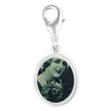 Mary Pickford 1928 Silver Oval Charm