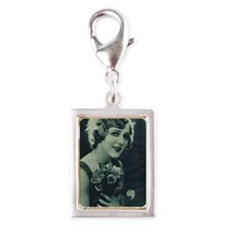 Mary Pickford 1928 Silver Portrait Charm