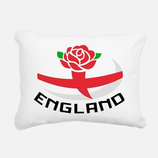 Rugby England English Ro Rectangular Canvas Pillow