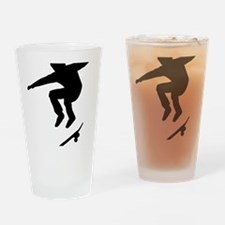 skateboarder Drinking Glass