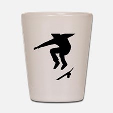 skateboarder Shot Glass