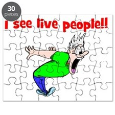 funny halloween gift Puzzle