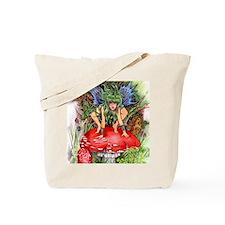 green faerie Tote Bag