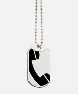 telephon_reciever Dog Tags