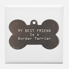 Friend Terrier Tile Coaster