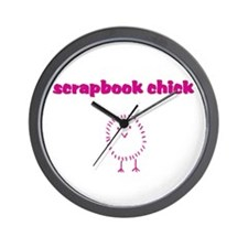 ScrapDiva Wall Clock