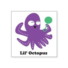"octopus Square Sticker 3"" x 3"""