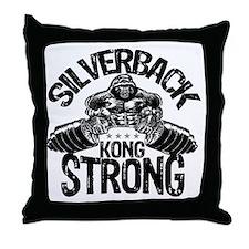 kong strong Throw Pillow