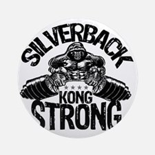kong strong Round Ornament